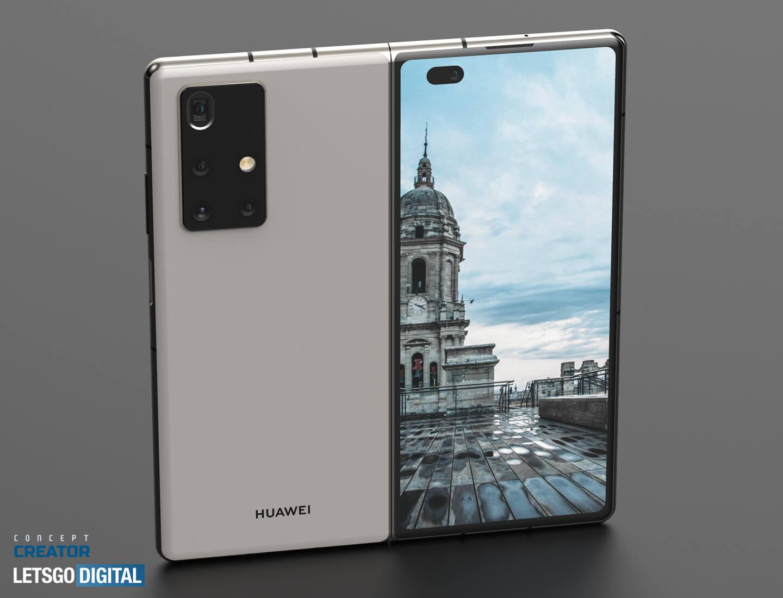 Téléphone pliable Huawei Mate X2 5G