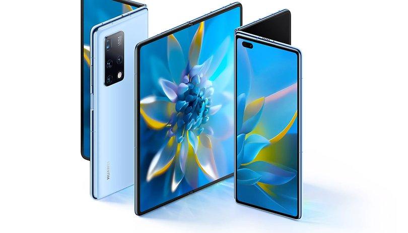 Examen initial du nouveau téléphone pliable Huawei Mate X2