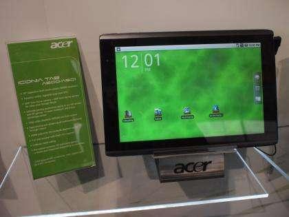Acer se lance dans la guerre des tablettes avec Iconia Tab