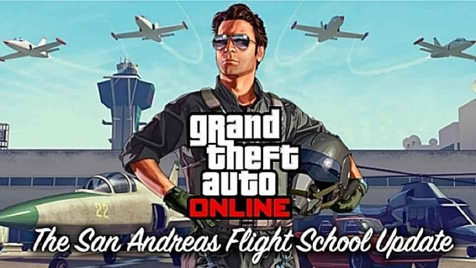 La mise à jour de GTA Online San Andreas Flight School atterrit
